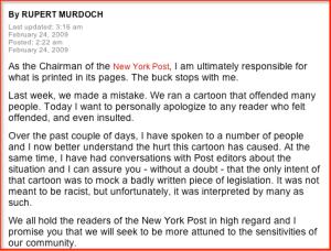 Murdoch apology